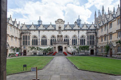 Historical Buildings Oxford University England Stock Photo