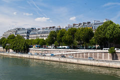 Historical Buildings in Paris Royalty Free Stock Photos