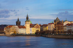 Historical buildings of Prague Royalty Free Stock Photo