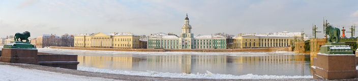 Historical buildings, Saint-Petersburg, Russia Stock Photography