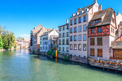 Historical buildings in Strasbourg Royalty Free Stock Photo