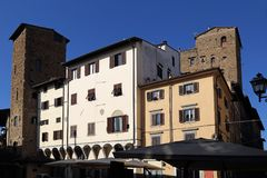 Historical buildings in Florence, Italy Royalty Free Stock Image