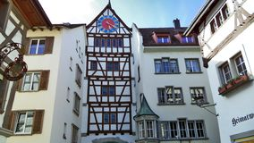 Historical buildings and traditional architecture, Stein am Rhein stock image
