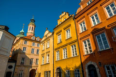 Historical buildings in the Warsaw Royalty Free Stock Images