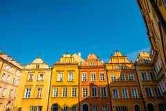 Historical buildings in the Warsaw Royalty Free Stock Photography