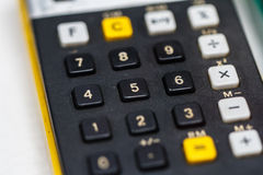 Historical Calculater View Stock Photography