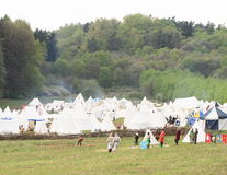 Historical camp Royalty Free Stock Images