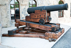 Historical cannon Royalty Free Stock Photos