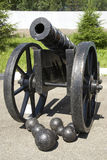 Historical cannon Stock Photography