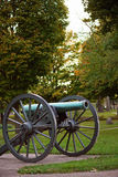 Historical cannon in Grant Park Royalty Free Stock Image