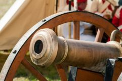 Historical cannon Royalty Free Stock Image
