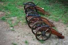 Historical cannons Royalty Free Stock Photo