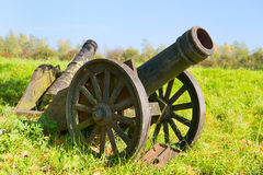 Historical canons Stock Image