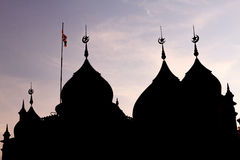 Historical Capital Mosque, Pattani Thailand Stock Images