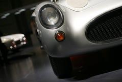Historical car. A detail of un' historical car Stock Photos