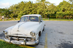 Historical car in the streets of Havana - Cuba Stock Photography