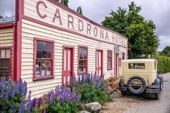 Historical Cardrona Hotel Stock Photo