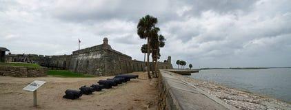 Historical Castillo de San Marcos in St. Augustine, Florida, USA royalty free stock photo