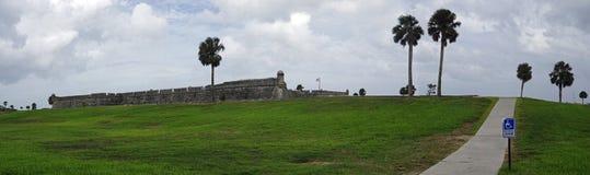 Historical Castillo de San Marcos in St. Augustine, Florida, USA stock images