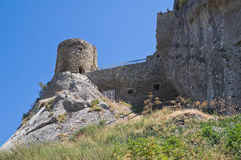 Historical castle of Basilicata. Italy. Royalty Free Stock Photo