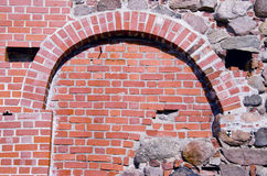 Historical castle bricks and stones wall Royalty Free Stock Photos