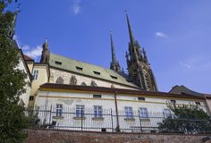 Historical Castle in Brno royalty free stock photo