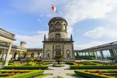 The historical castle - Chapultepec Castle Royalty Free Stock Images