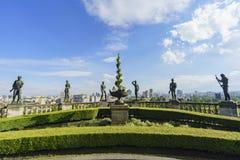 The historical castle - Chapultepec Castle Stock Images