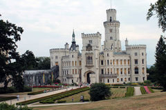 Historical castle. In the Czech republic Royalty Free Stock Images
