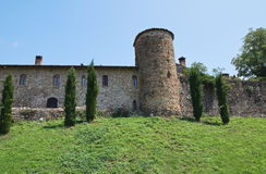 Historical castle of Emilia-Romagna. Italy. Royalty Free Stock Photography