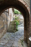 Historical castle of Emilia-Romagna. Italy. Royalty Free Stock Photos