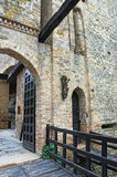 Historical castle of Emilia-Romagna. Italy. Royalty Free Stock Photo