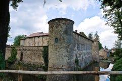 Historical castle of Emilia-Romagna. Italy. Stock Photography