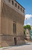 Historical castle of Emilia-Romagna. Italy. Stock Images