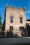 Historical castle of Emilia-Romagna. Italy. Royalty Free Stock Photo