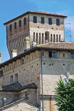 Historical castle of Emilia-Romagna. Italy. Stock Photography