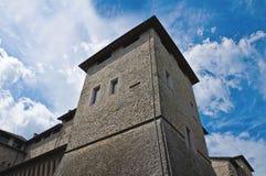 Historical castle of Emilia-Romagna. Italy. Royalty Free Stock Image