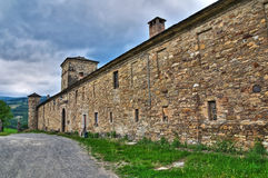 Historical castle of Emilia-Romagna. Italy. Royalty Free Stock Images