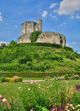 Historical castle of Gisors in Normandie Royalty Free Stock Photography