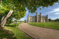 Historical Castle in Leeds Kent Royalty Free Stock Image