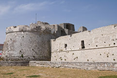 Historical castle of Puglia. Italy. Royalty Free Stock Photography