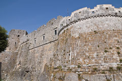 Historical castle of Puglia. Italy. Stock Photo
