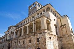 Historical castle of Puglia. Italy. Stock Image