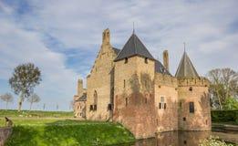 Historical castle Radboud in Medemblik Royalty Free Stock Photography