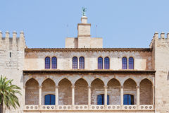 Historical castle in Spain Royalty Free Stock Photo