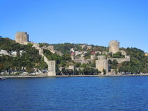 Historical castle in Turkey Stock Photography