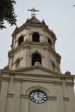 Historical Catholic Basilica. Historic Church Tower in St. Augustine, Florida Royalty Free Stock Photo