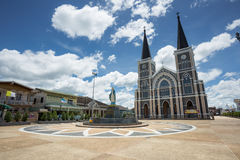 Historical Catholic church in Thailand Royalty Free Stock Images
