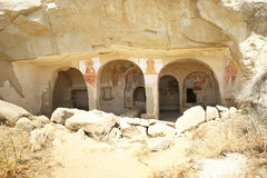 Historical caves Stock Photography