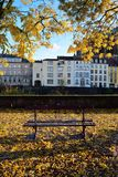 Historical town Metz in autumn. Royalty Free Stock Image